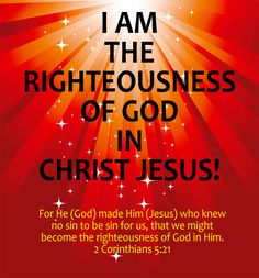 Two Aspects to Righteousness