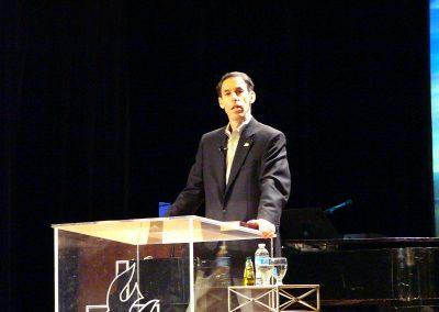 Teaching at Christian Retreat