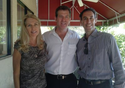 Jim and Peggy with Gary Coxe