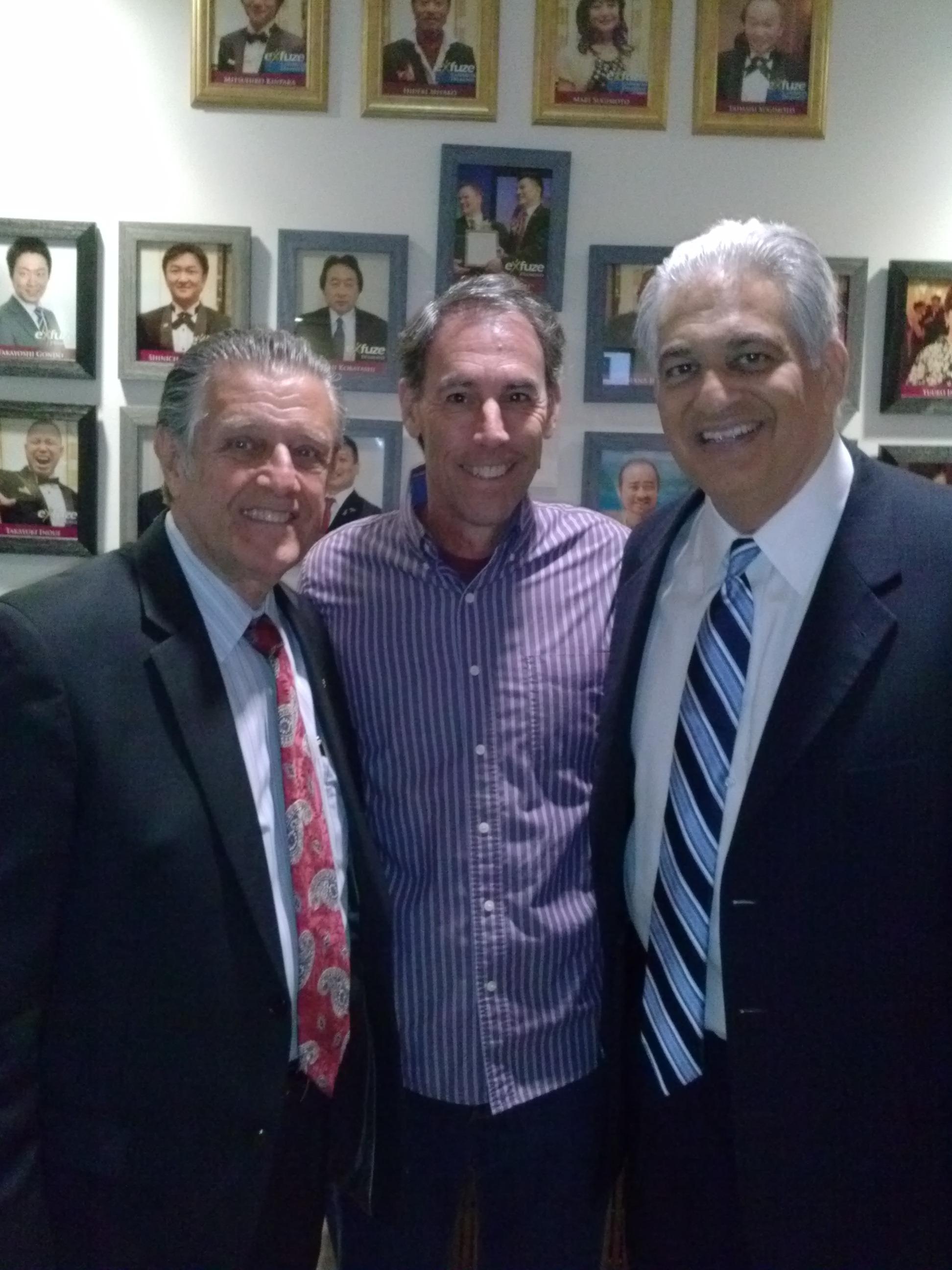 Jim with Paul Morris & Bob Burg