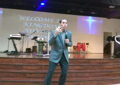 Speaking at Kingdom Advance Seminar