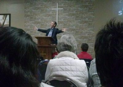 Speaking in Melbourne, Florida