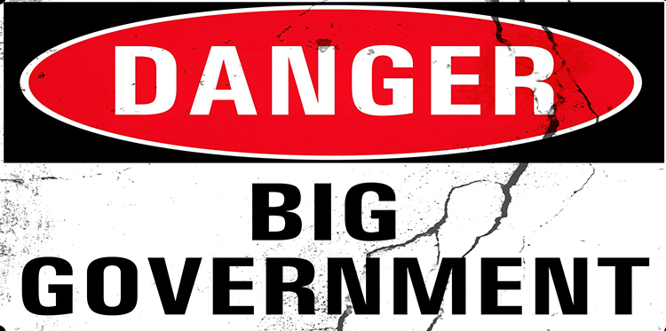 The Solution for America Today: Vote Against Big Government is the Third Step
