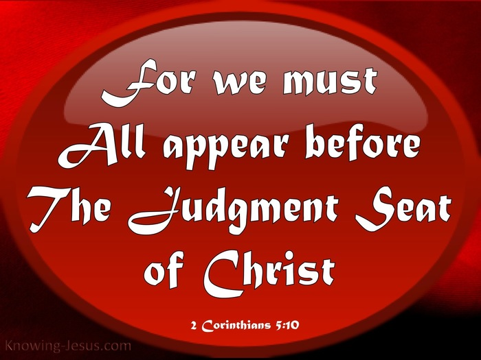 More from the Judgment Seat of Christ